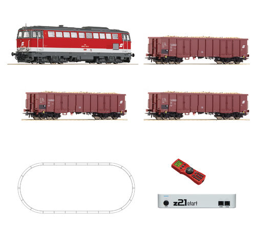 ROCO 51291 - Start set digitale Z21, con locomotiva gruppo 2043, OBB