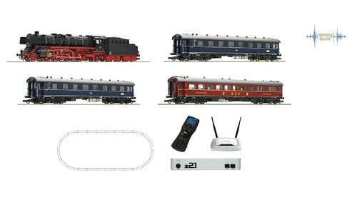 ROCO 51308 - Start Set digitale Z21 - WIFI, con locomotiva BR01, DB **DIGITAL SOUND**