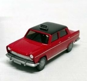 BLACKSTAR BS00044 - Fiat 1800 'Taxi' rosso, ep.III