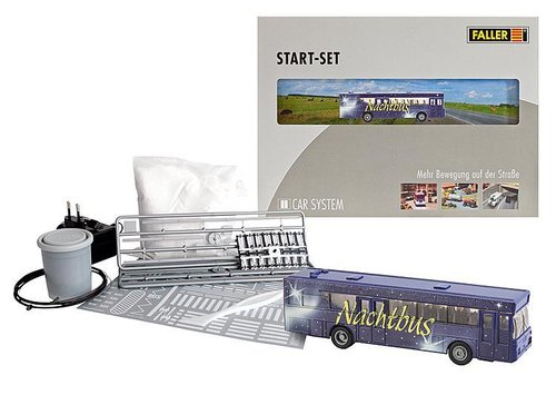 FALLER 161499 - Start set car system Night Bus