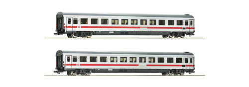 ROCO 74089 - Set di due carrozze IC di 2a classe, DB AG